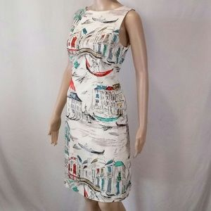Leslie Fay Art Print dress